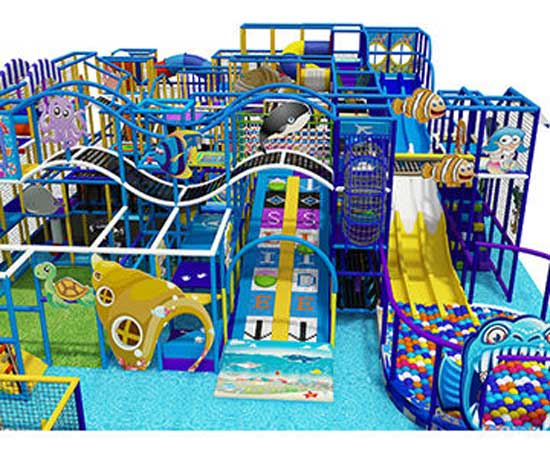 Large Residential Indoor Playground Equipment