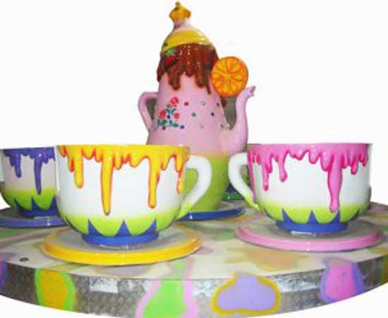 Kiddie tea cup rides